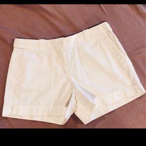 EUC New York & Co. 100% Cotton White Shorts